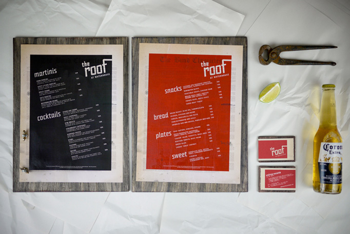 The Roof menu